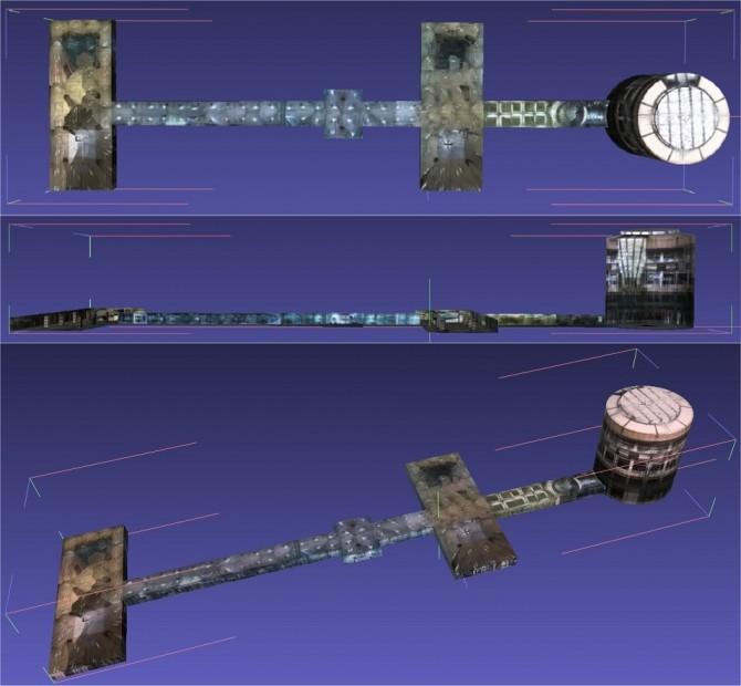 본 기술을 이용해 만든 고려대 중앙광장. 너비 200m 폭 75m 높이 50m다. - 고려대 공과대 전기전자공학부 제공